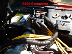 C500 Connector Location