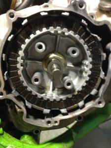 Inside clutch