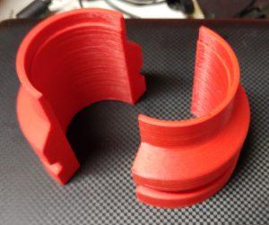 48mm Fork Seal Sliders Printed